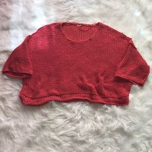 Free people slouchy oversized sweater size xs